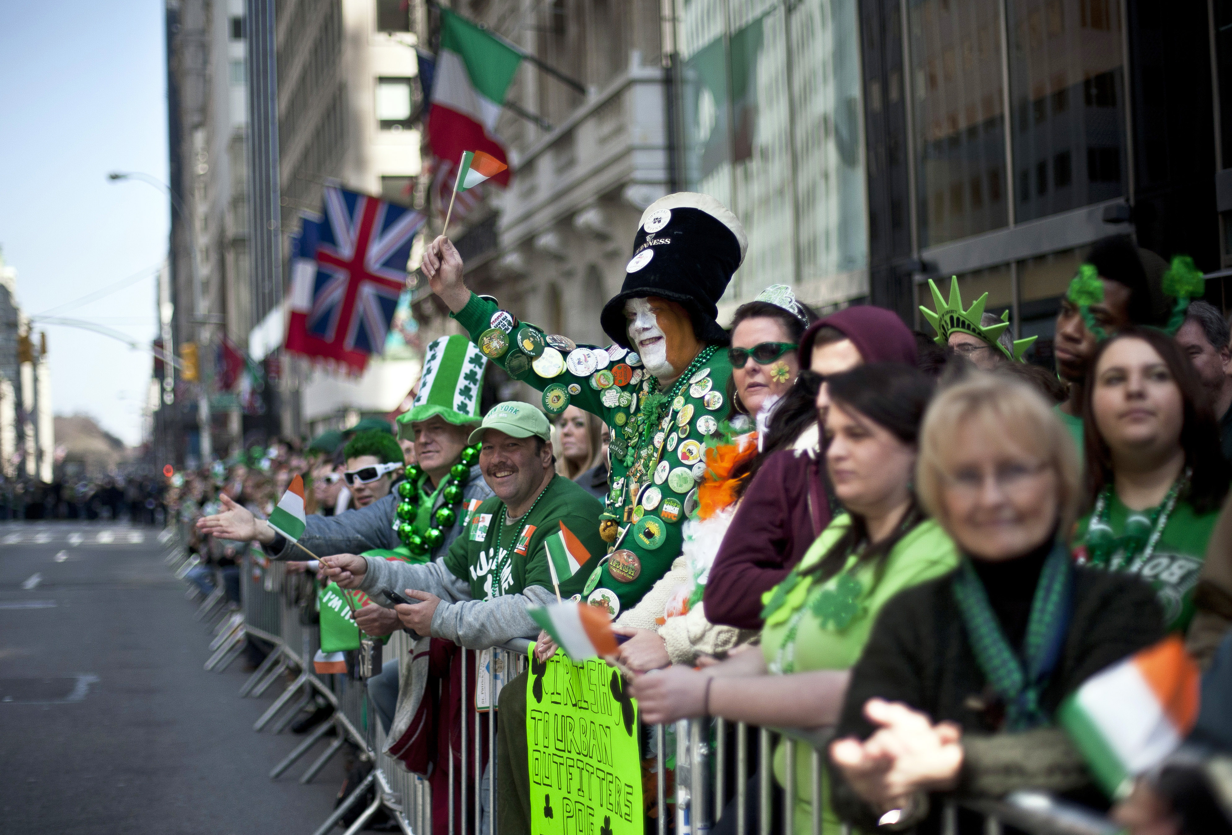 New York City Holds Annual St. Patrick's Day Parade