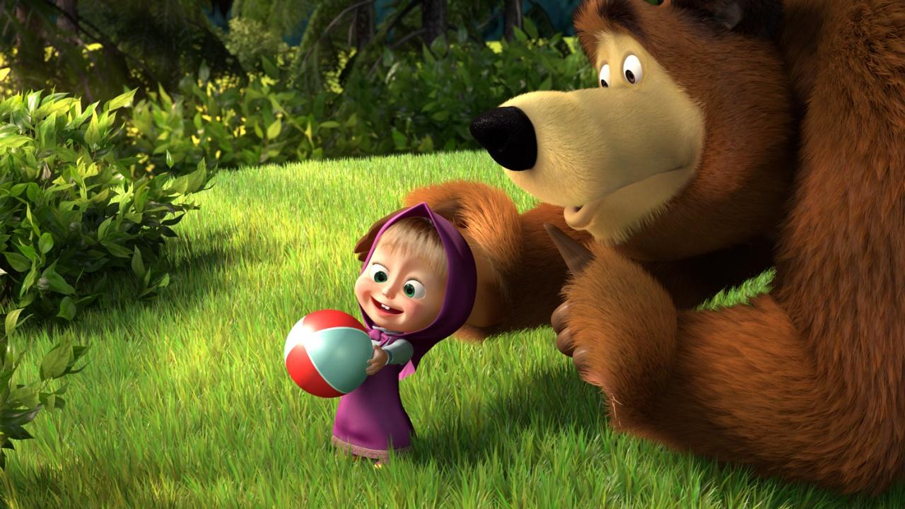 Masha-And-The-Bear